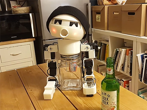 Robot Drinking buddy