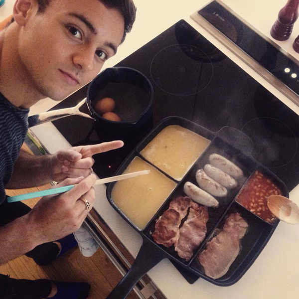 Tom Daley Frying Pan