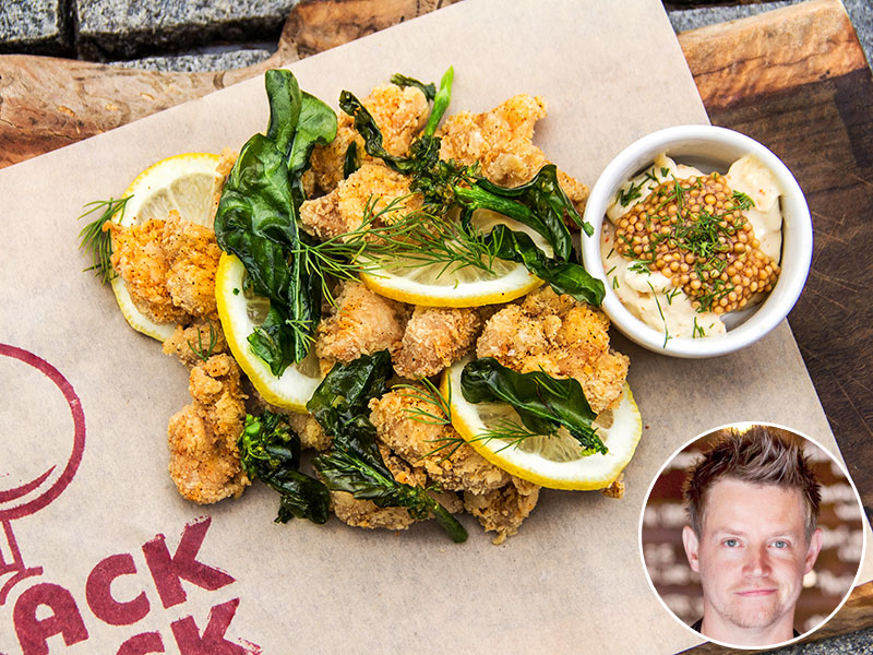 Richard Blais Oyster Fried Chicken