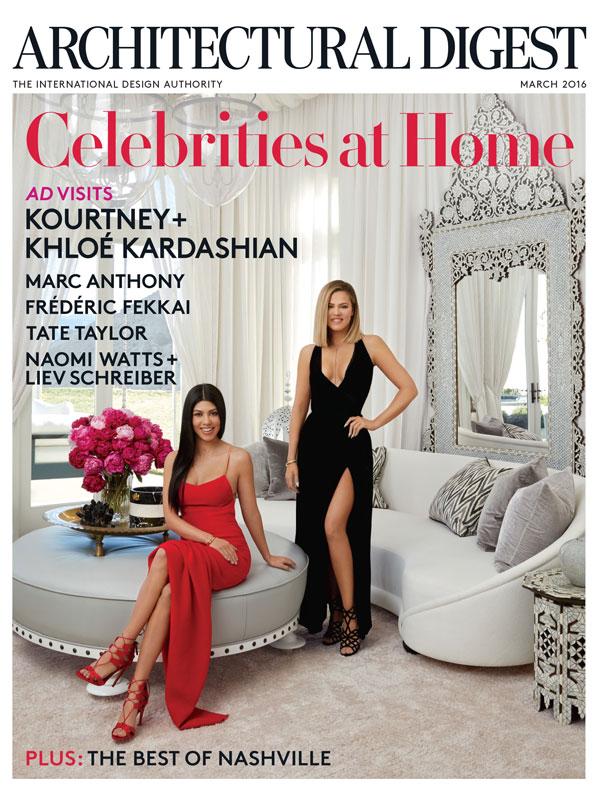 Kardashians in Architectural digestRoger Davies
