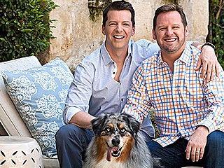 Step Inside Sean Hayes and Husband Scott Icenogle's Tudor-Style L.A. Home