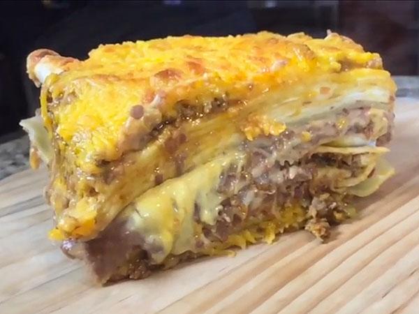 Taco Bell lasagna