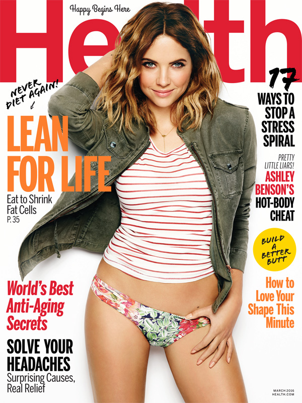 ashley benson �i get told all the time to lose weight