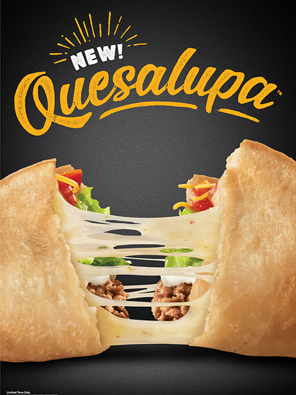 Taco Bell Quesalupa Debuts in Super Bowl Commercial | PEOPLE com