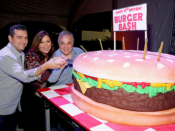 Rachael Ray Burger Bash at South Beach Wine & Food Festival