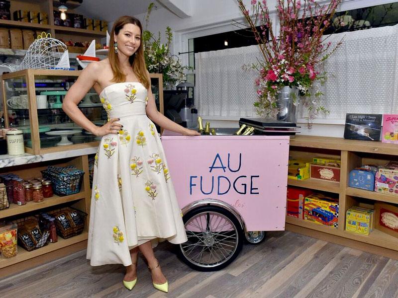 Jessica Biel Au Fudge