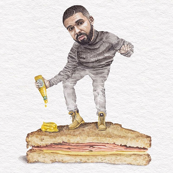 Celebs on Sandwiches