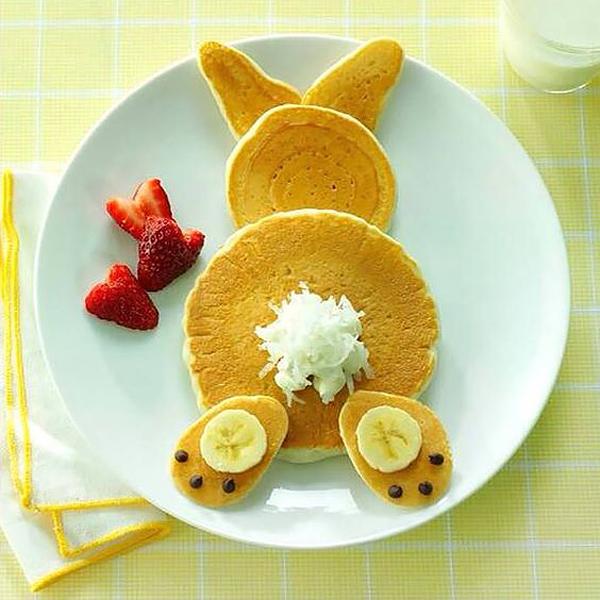 Pancake Bunny Butts
