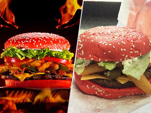 Red Bun Angriest Whopper