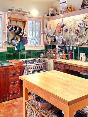 Julia Child's cottage
