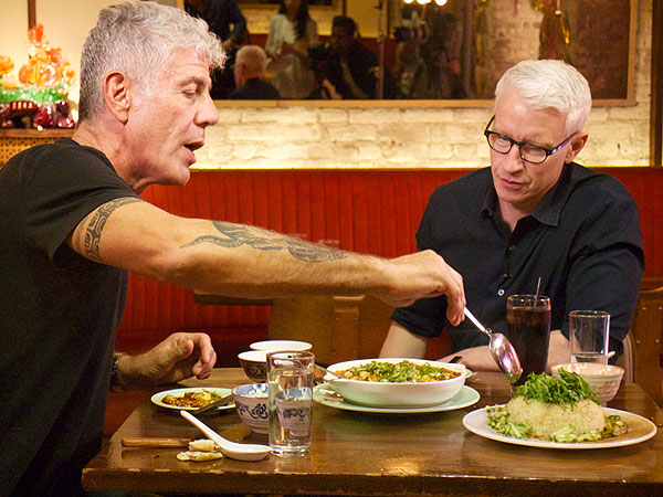 Anthony Bourdain Anderson Cooper