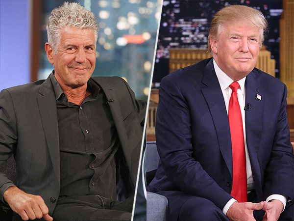 Donald Trump Anthony Bourdain