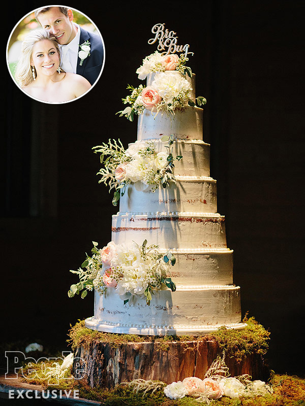 Shawn Johnson Wedding Cake