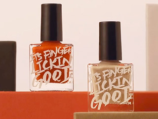 KFC's Edible, Fried Chicken-Flavored Nail Polish Gives New Meaning to Chicken Fingers