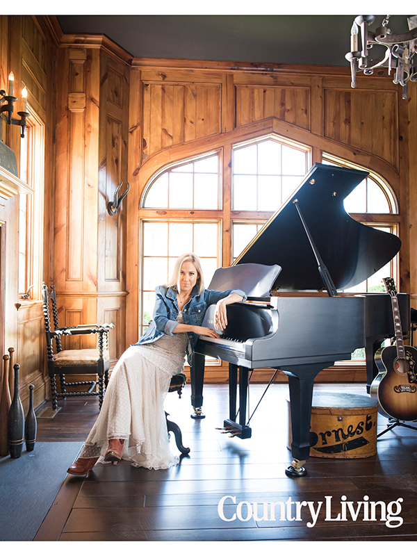 Sheryl Crow for Country Living