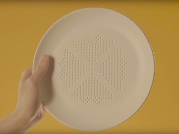 This Dinner Plate Promises to Cut Calories as You Eat Your Meal — Here's How it Works