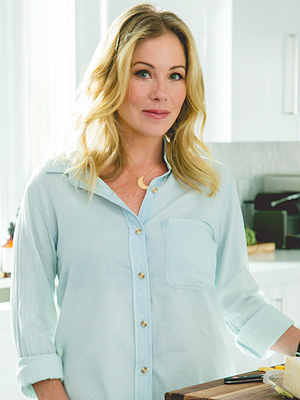 Christina Applegate Kitchen