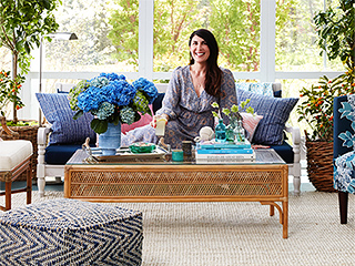 Patrick Dempsey and Lea Michele's Interior Designer Gets a Pretty Porch Makeover