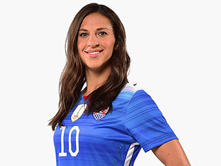 FROM SI: Soccer Star Carli Lloyd Discloses Strained Relationship With Family in New Book