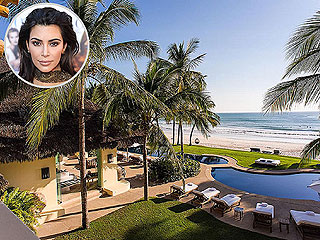 Inside Kim Kardashian's Oceanfront Mexican Vacation Home