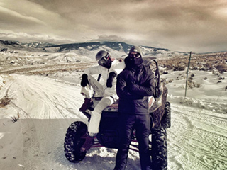 Inside Calvin Harris and Taylor Swift's Snowy Vail Christmas