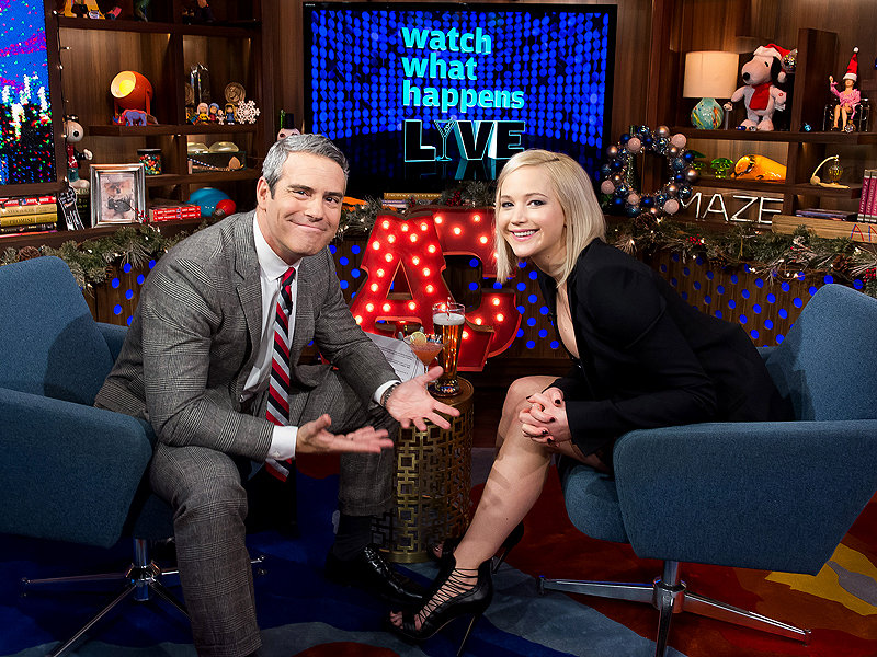 Jennifer Lawrence Confesses to Kissing Liam Hemsworth Off Screen: 'Liam's Real Hot. What Would You Have Done?'| Watch What Happens Live, The Hunger Games, Movie News, People Picks, TV News, Andy Cohen, Jennifer Lawrence, Liam Hemsworth