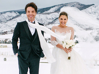 Richard Marx and Daisy Fuentes Tie the Knot in Aspen: See the Gorgeous Wedding Photos!