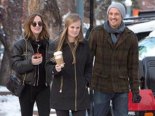 Dakota Johnson Goes Holiday Shopping with Gorgeous Half-Sister Stella Banderas