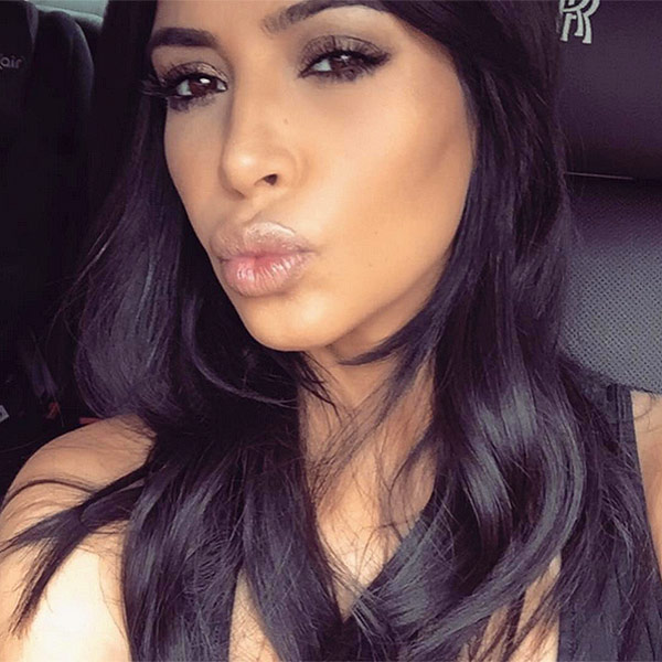 Kim Kardashian West Celebrates Hitting 55 Million Instagram Followers ... Kim Kardashian