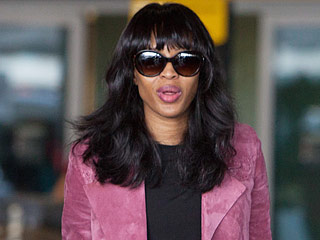 Supermodel Naomi Campbell Spotted in a Wheelchair After Injuring Her Foot