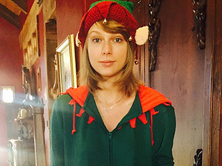 Hold the 'Elf Phone': Taylor Swift Has Won Christmas with Her Adorable Onesie