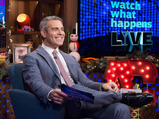 Andy Cohen Opens NBC's New Year's Eve Game Night with Bill Cosby Reference