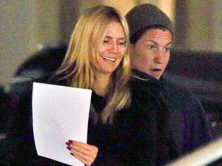 Heidi Klum Is All Smiles as She Joins Boyfriend Vito Schnabel in Switzerland