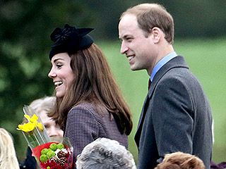 Sunday Stroll with the Royals! Princess Kate, Prince William and Prince Harry Step Out for Church