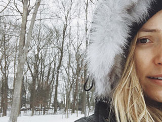 Kristin Cavallari Posts Cute Instagram Snap Enjoying a Snow Day with Son Camden