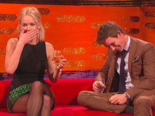 FROM EW: Jennifer Lawrence and Eddie Redmayne Bond Over Their (Embarassing) Modeling Pasts