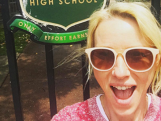 'Good to Be Back': Naomi Watts Takes a Trip Down Memory Lane as She Visits Her Old High School in Australia