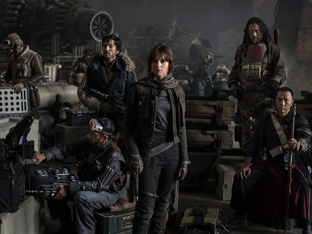 The Epic First Teaser for Star Wars: Rogue One Has Arrived  Star Wars, Movie News, Diego Luna, Felicity Jones, Forest Whitaker