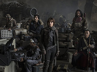 FROM EW: Rogue One Debuts New Footage at Star Wars Celebration