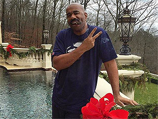 Which Holiday Is It Again? Steve Harvey Makes Fun of His Miss Universe Mix-Up with Christmas Tweet