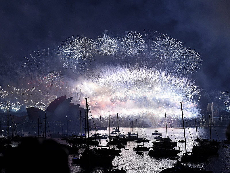 Happy New Year's Eve! See How Countries Around the World Are Ringing In 2016| New Year's Eve, New Year's, Rebel Wilson