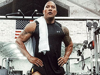 Dwayne 'The Rock' Johnson Trains 'The Beefs' in Post-Holiday Workout Photo