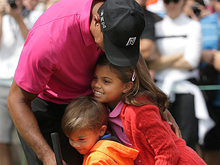 Ouch! Tiger Woods' Children Hit the Injured Golfer Where It Hurts with This Hole-in-One of a Joke