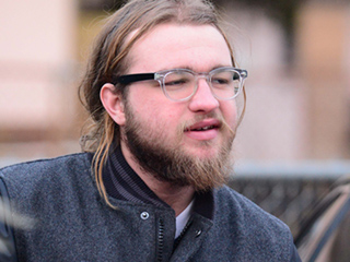 Two and a Half Men's Angus T. Jones Is All Grown Up – and Has the Beard to Prove It