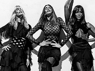 Claudia Schiffer Calls Naomi Campbell's Body the 'Best in the Business' in Balmain's Daring New Ads