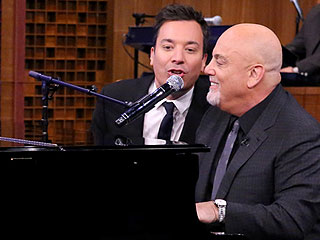 FROM EW: Watch Billy Joel's Impromptu Doo-wop Performance with Jimmy Fallon and J.K. Simmons