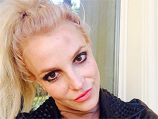 Britney Spears Rings in the New Year by Running into a Pole – and Posts a Photo to Prove It