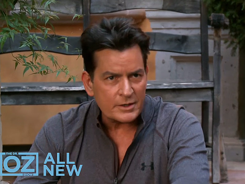 Dr. Oz Talks Charlie Sheen's Bipolar Claim: 'I'm Chasing a Cure for Charlie'| HIV/AIDS, Health, TV News, Charlie Sheen, Dr. Oz