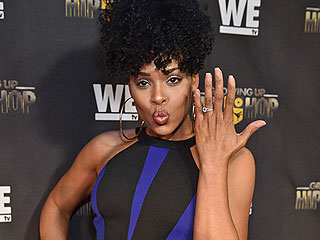 The Real Housewives of Atlanta's Demetria McKinney Is Engaged (and She Can't Stop Showing Off the Rock)