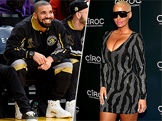 Drake and Amber Rose Ring in the New Year Together in Miami, But There Was 'No Public Display of Affection'